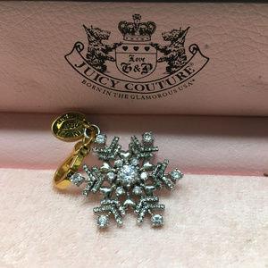 Juicy Couture Snowflake Bracelet Charm 2007